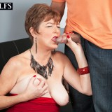 Filthy 60 years old swinger granny never refuses a quick and dirty interlude in the afternoon with young charming boys #11_thumb