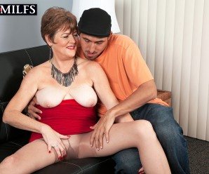 Filthy 60 years old swinger granny never refuses a quick and dirty interlude in the afternoon with young charming boys