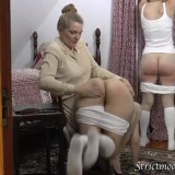 granny spanks her two little daughters before bringing them to bed #10_thumb