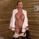 granny faye rampton is teaching you a serious lesson with her riding whip #9_thumb
