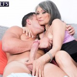 grey haired kinky 60 years old glamour granny doing some good to her young sugarboy #5_thumb