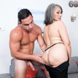 grey haired kinky 60 years old glamour granny doing some good to her young sugarboy #3_thumb