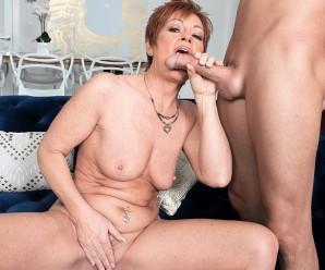 gilf ruby o 'conner now lives the swinger lifestyle with a young admirer
