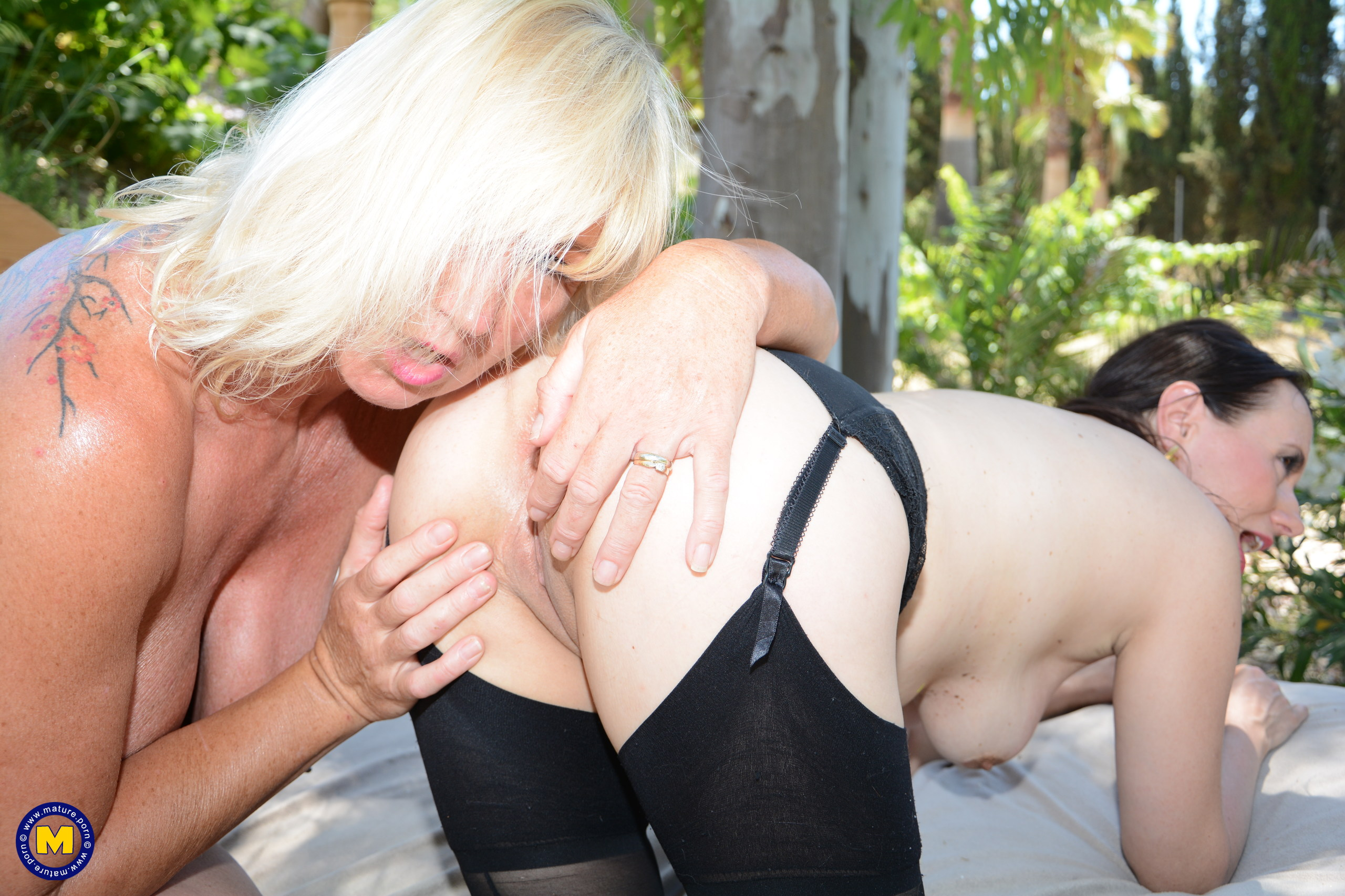 grannys finca in majorca is a honeytrap for young bi curious girls #1