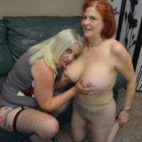 grannys new strapoon just arrived by mailorder – she invited her neighbour to test it out #6_thumb