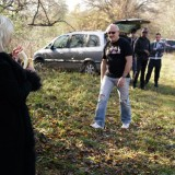 dogging granny invites a couple of random guys for a outdoors gangbang #6_thumb