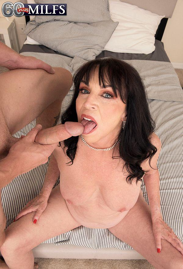 71-year-old Christina fucks a 25-year-old - Christina Starr and Oliver Flynn (84 Photos) - 60 Plus MILFs picture 2