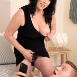 71-year-old Christina fucks a 25-year-old - Christina Starr and Oliver Flynn (84 Photos) - 60 Plus MILFs picture 10