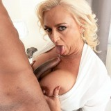 Charli is 56. The guy with the BBC is 23. - Charli Adams and John Long (88 Photos) - 50 Plus MILFs picture 13