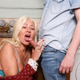 finally anal sex with granny angelique, 68 years old picture 7
