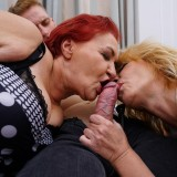 New Year's orgy in the retirement home picture 7