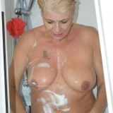 gigantic granny Dimonty washing her little cunt  picture 3