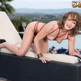 Poolside butt-plugging with Cyndi Sinclair - Cyndi Sinclair (91 Photos) - 50 Plus MILFs picture 13