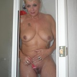 gigantic granny Dimonty washing her little cunt  picture 15