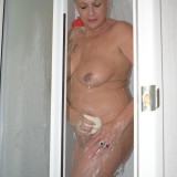 gigantic granny Dimonty washing her little cunt  picture 13