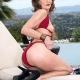 Poolside butt-plugging with Cyndi Sinclair - Cyndi Sinclair (91 Photos) - 50 Plus MILFs picture 14
