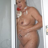 gigantic granny Dimonty washing her little cunt  picture 14