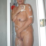 gigantic granny Dimonty washing her little cunt  picture 7