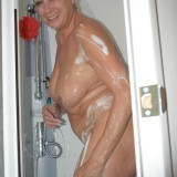 gigantic granny Dimonty washing her little cunt  picture 9