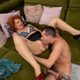 going down ruff and hard on grandmothers arse and pussy picture 11
