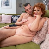 going down ruff and hard on grandmothers arse and pussy picture 14