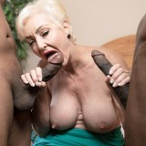 Two cocks for Seka Black - Seka Black (88 Photos) - 60 Plus MILFs picture 7