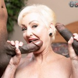 Two cocks for Seka Black - Seka Black (88 Photos) - 60 Plus MILFs picture 13