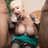 Two cocks for Seka Black - Seka Black (88 Photos) - 60 Plus MILFs picture 6