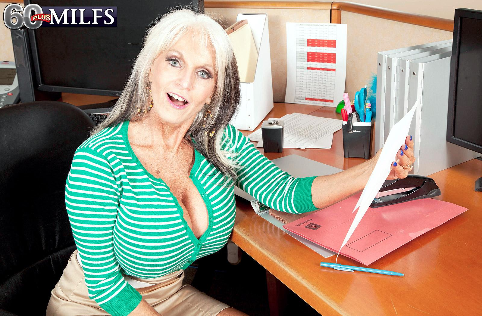 The horniest secretary ever - Sally D'Angelo (85 Photos) - 60 Plus MILFs picture 2