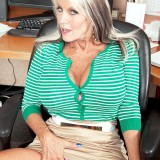 The horniest secretary ever - Sally D'Angelo (85 Photos) - 60 Plus MILFs picture 7