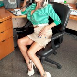The horniest secretary ever - Sally D'Angelo (85 Photos) - 60 Plus MILFs picture 3