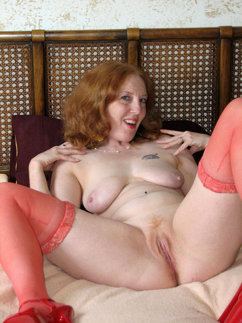 Claire a 68 old awesome SEXY MOM a cute redhead