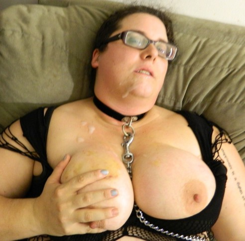 Kaylee a 65 old horny BBW GRANNY a cute ugly bbw fatty just took a cumshot