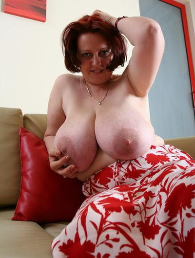 Natalie a 65 old amiable BIG TITTED GRANNY has a big granny pussy and huge tits