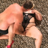 young guy enjoys good old fashioned sex in missionary position with fatty granny #1