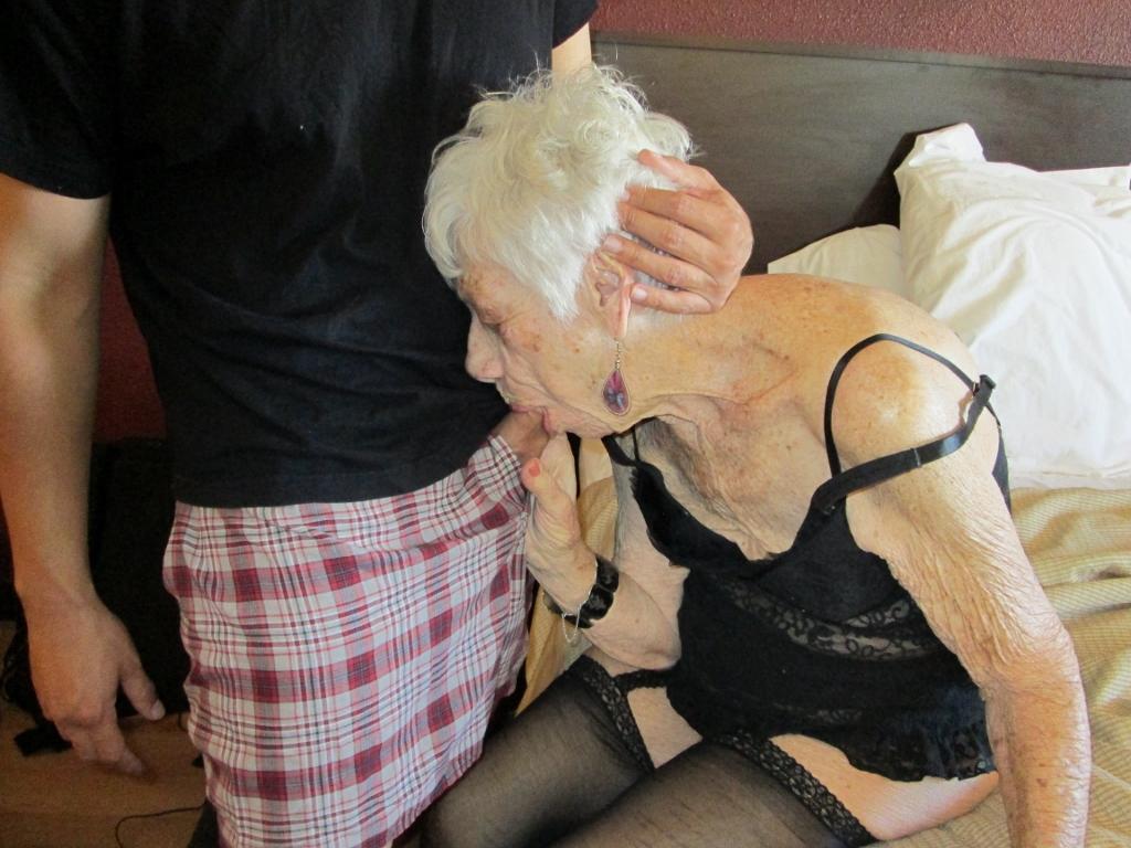 granny boned in hotel room