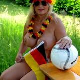 sexy german granny at a nudist camp #7