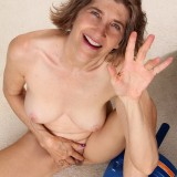 60 years old has a tight granny pussy #6