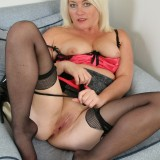 experienced older granny female from brooklyn doing a striptease #1
