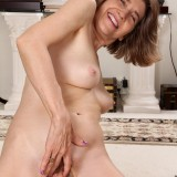 60 years old has a tight granny pussy #5