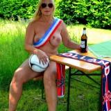 sexy german granny at a nudist camp #3