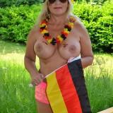 sexy german granny at a nudist camp #2