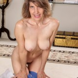 60 years old has a tight granny pussy #7