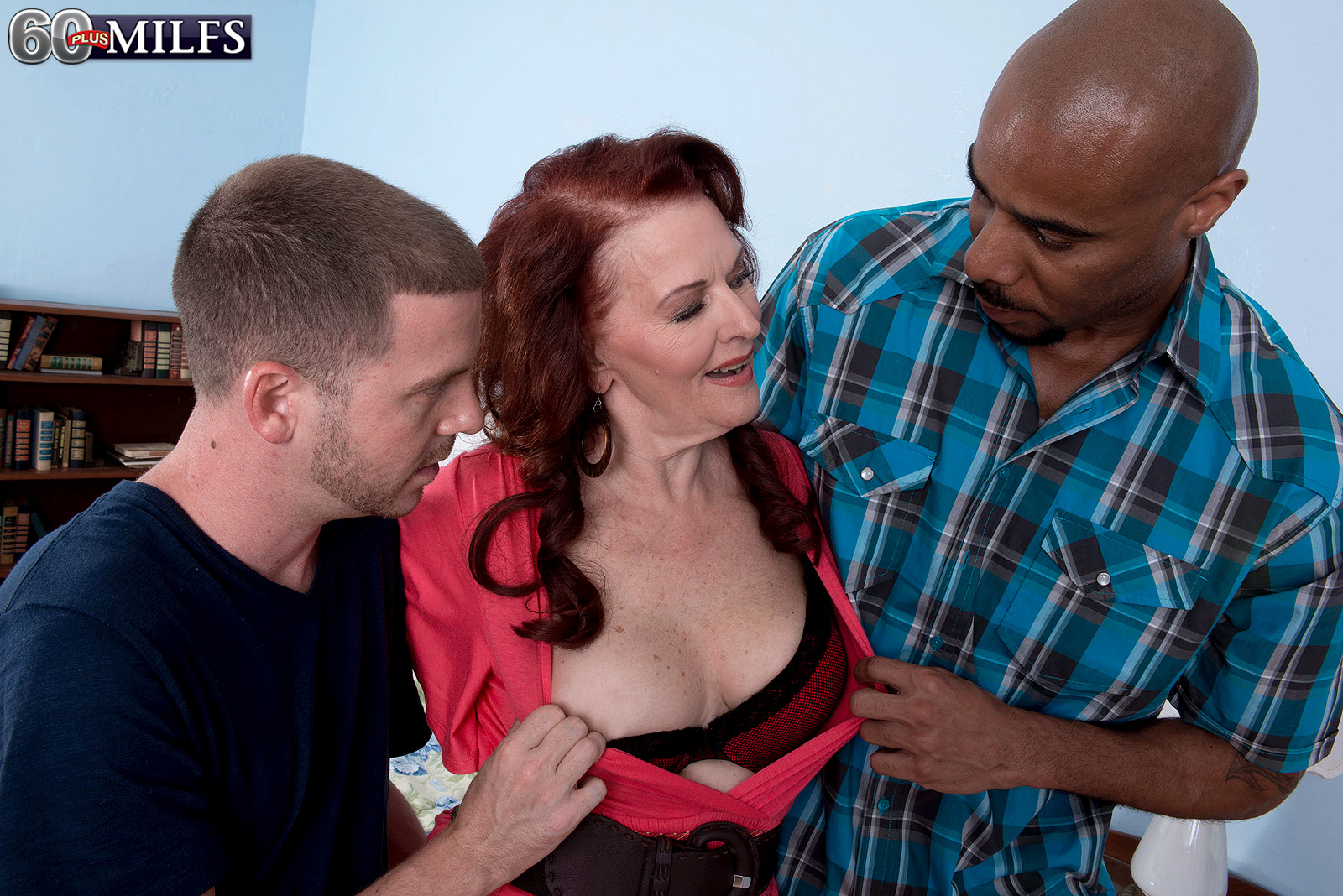 Catherine Merlots dreams of performing in a gangbang with a black dude coming true