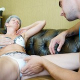 first blowjob from granny #3