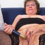 lonley granny orgasm #7