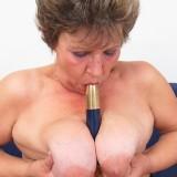 lonley granny orgasm #4