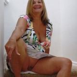 granny upskirt #4