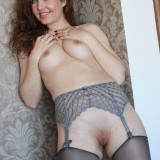 sexy mom with cute stockings #2