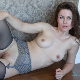 sexy mom with cute stockings #5